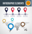 infographic element set2 vector image vector image