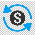 Money Turnover Icon vector image vector image