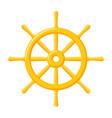 ships wheel icon vector image