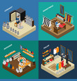 Craftsman isometric compositions