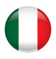 isolated flag of italy vector image vector image