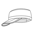 Military cap vector | Price: 1 Credit (USD $1)