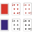 Playing card set 07 vector image vector image