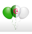 Balloons in as National Flag vector image vector image