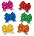 colorful bows vector image