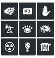 Lack of natural resources electricity and heat vector image vector image