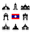 Laos Icon Travel Landmarks