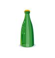 Beer Bottle Green Retro vector image vector image
