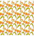 Seamless pattern with wildflowers vector image vector image