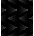 white on black seamless pattern vector image vector image