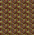 floral pattern seamless texture vector image vector image