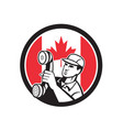 canadian telephone installation repair technician vector image vector image