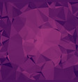 cluttered polygonal background in magenta tones vector image vector image