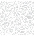 grey tribal abstract seamless repeat pattern vector image vector image