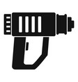 impact drill icon simple style vector image vector image