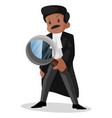 lawyer cartoon vector image