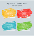 set of creative grunge banners frames backgrounds vector image vector image
