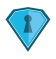 shield protection security technology vector image vector image