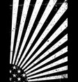 black and white grunge united states of america vector image