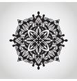circle pattern mandala doodle style vector image