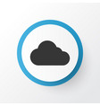 cloud icon symbol premium quality isolated vector image vector image