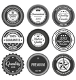 Retro Label Badges vector image vector image
