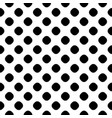 seamless pattern black and white dotted texture vector image vector image