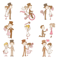 Wedding Doodles - Design Elements vector image vector image