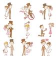 Wedding Doodles - Design Elements vector image vector image