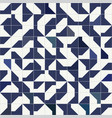 abstract modernist style geometric tiles seamless vector image vector image