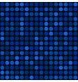 Blue Abstract Seamless Background with Bubbles vector image vector image
