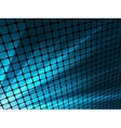Blue rays light 3D mosaic EPS 8 vector image vector image