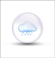 bubble weather vector image