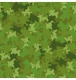 Camouflage Seamless Background Woodland Style vector image