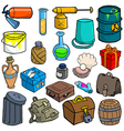 Cartoonish objects vol 3 vector image vector image