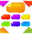 Color Stikers vector image vector image