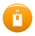key connector icon orange vector image vector image