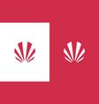 stripe company logo vector image vector image