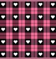 Valentine day tartan plaid pattern scottish cage