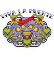 Viva la muerte vector image