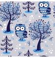 an owl vector image