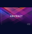 abstract modern geometrical background purple vector image vector image