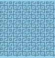 abstract seamless maze pattern geometric blue vector image vector image