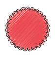 blank stamp symbol vector image