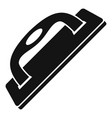 construct wood tool icon simple style vector image vector image