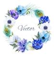 Nice Anemones wearth vector image