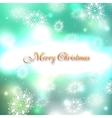 Shining christmas background vector image vector image
