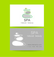 spa natural beauty vector image