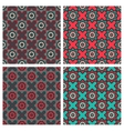 Abstract Patterns with Ethnic Ornament vector image vector image