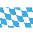 Bavaria Flag vector image vector image